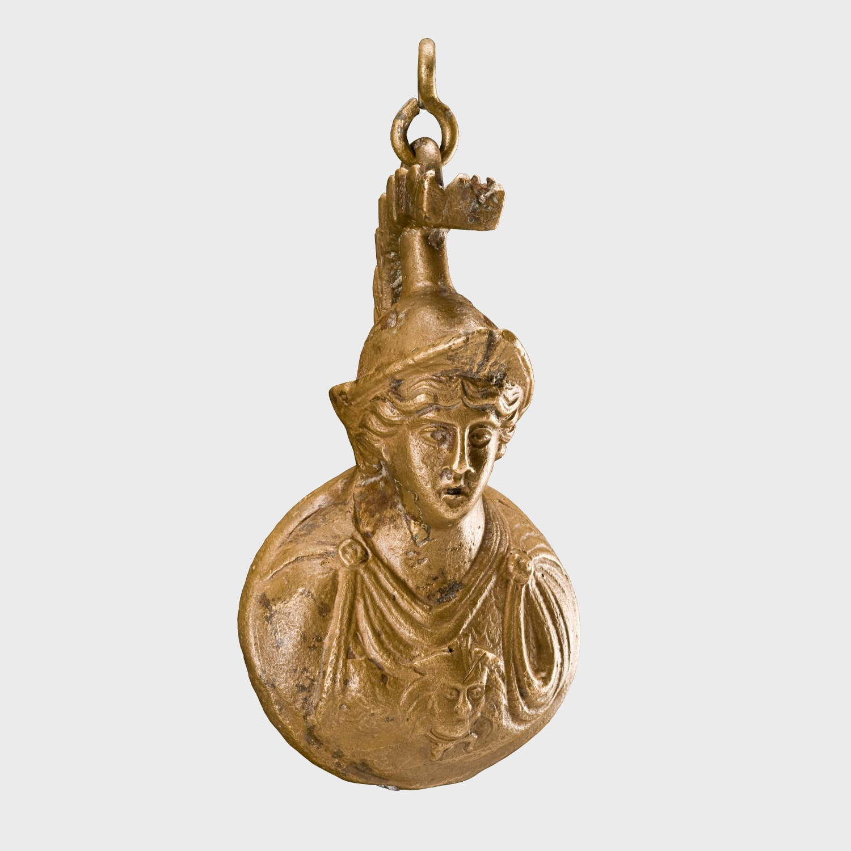 Athena Büstü Biçimli Kantar Ağırlığı