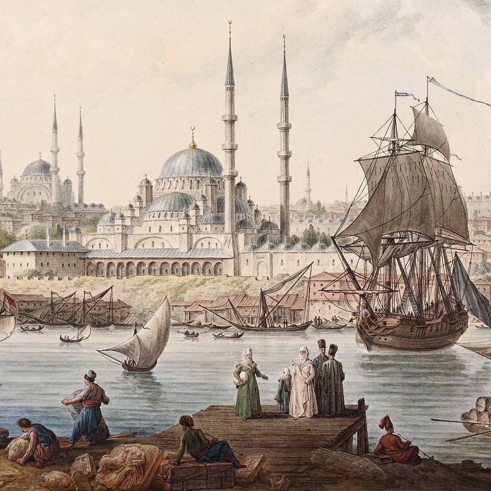 Yeni Cami ve İstanbul Limanı
