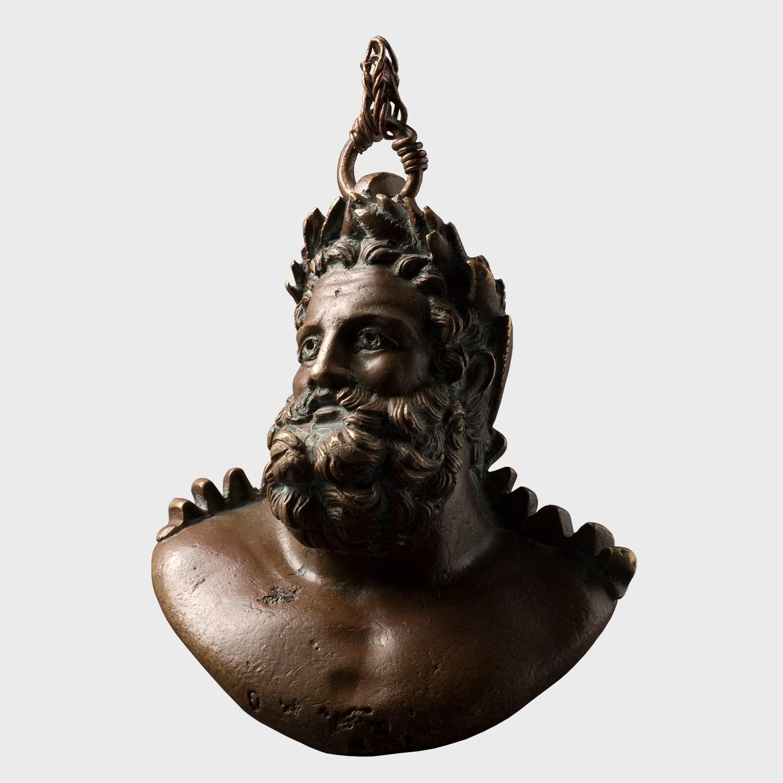 Herakles Büstü Biçimli Kantar Ağırlığı