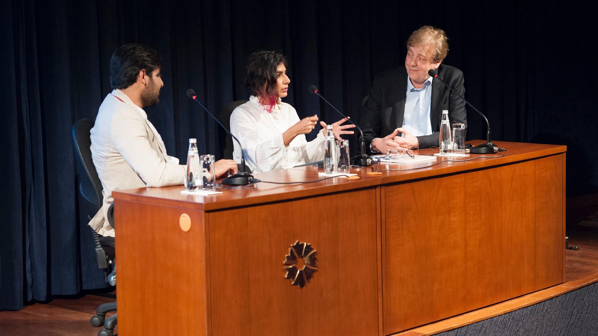 Alistair Hicks, Waqas Khan, RAQS Media Collective