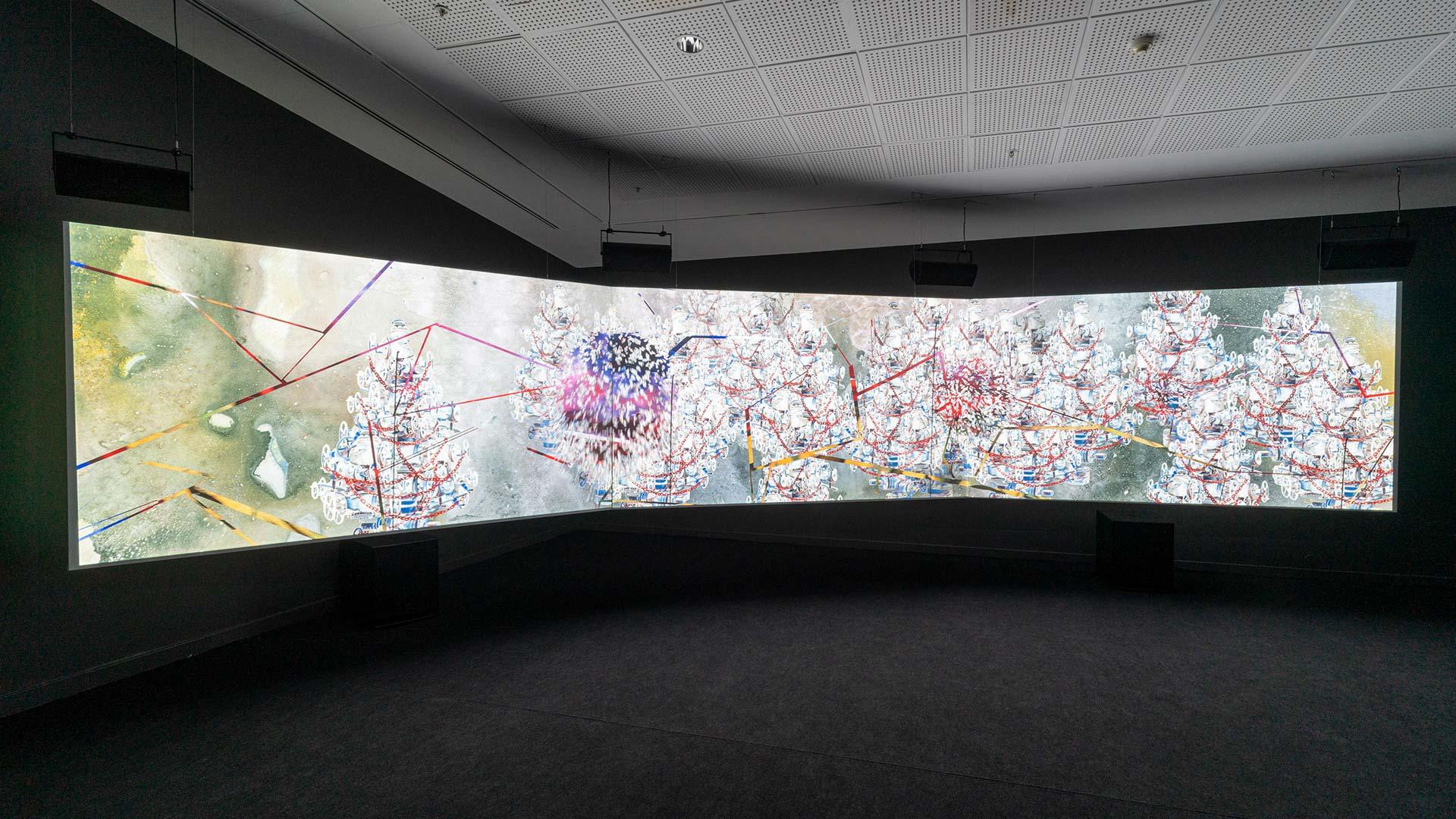 İkilikleri Kırmak: Kovid Döneminde Sanat Üzerine Düşünceler <br> Shahzia Sikander ve Vishakha Desai