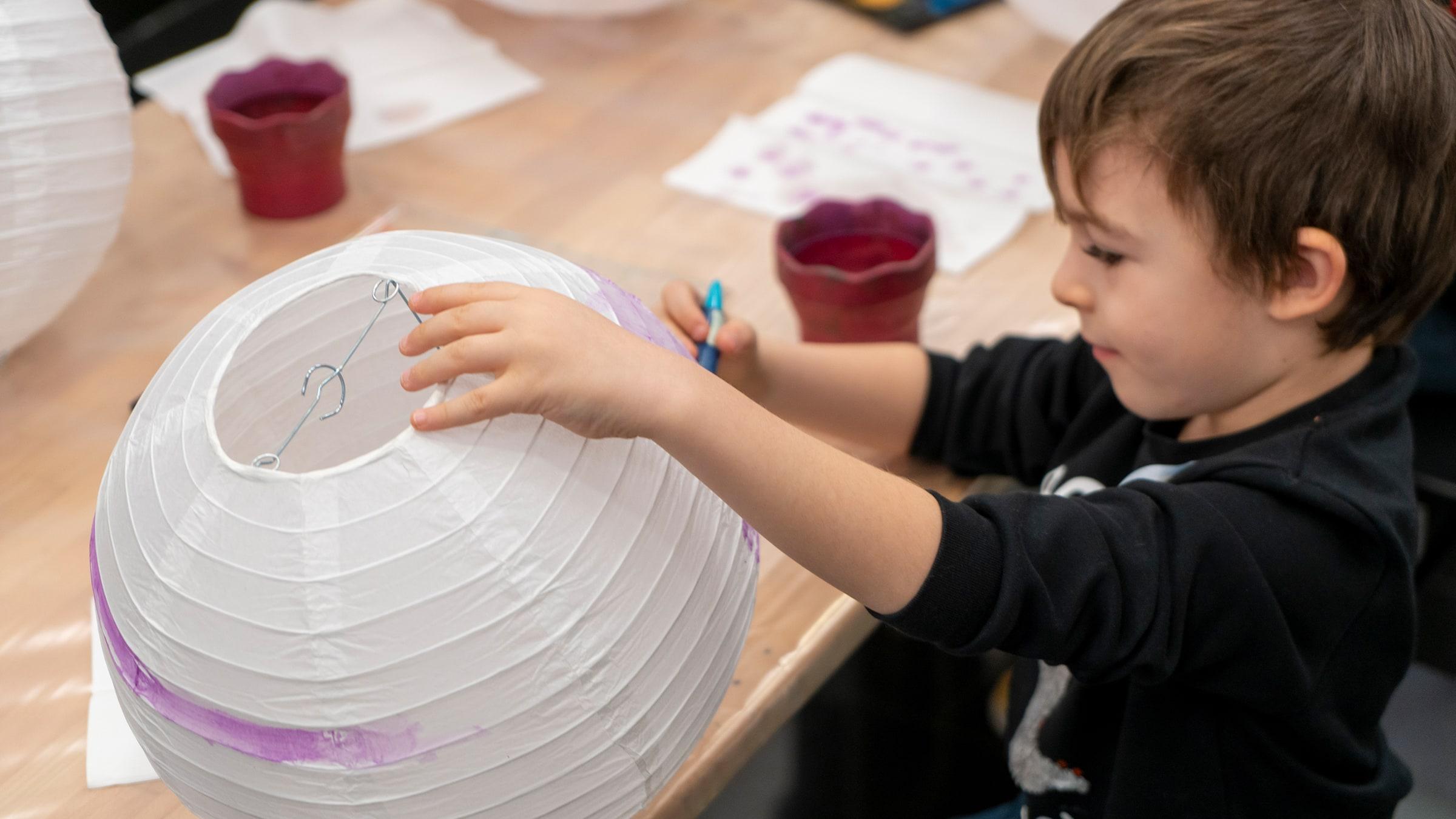 Hayal Dünyama Yolculuk: Kağıt Lambadan Balon