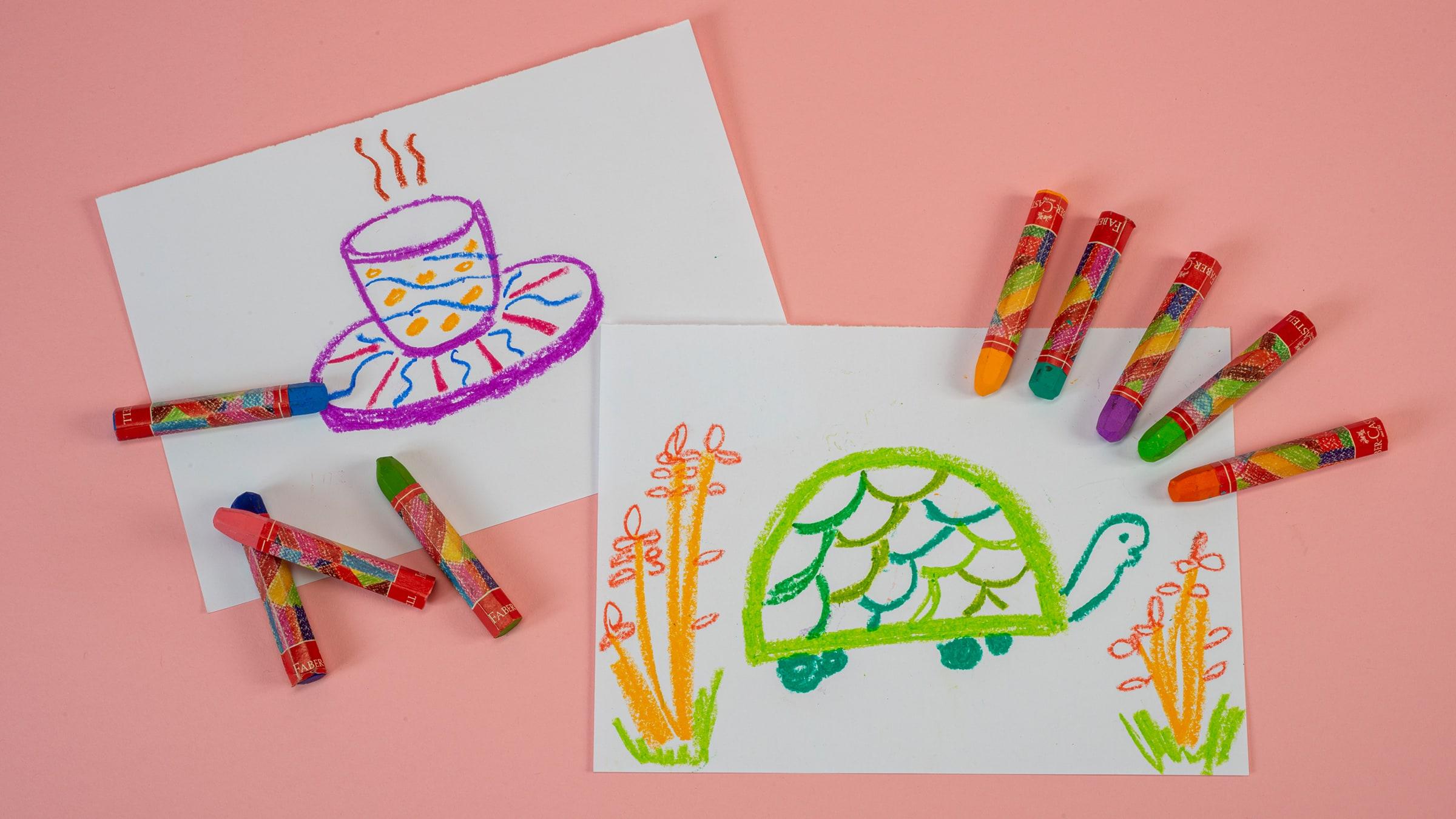 Kaplumbağa Çizimi ve Fincan Tasarımı (Anaokulu)