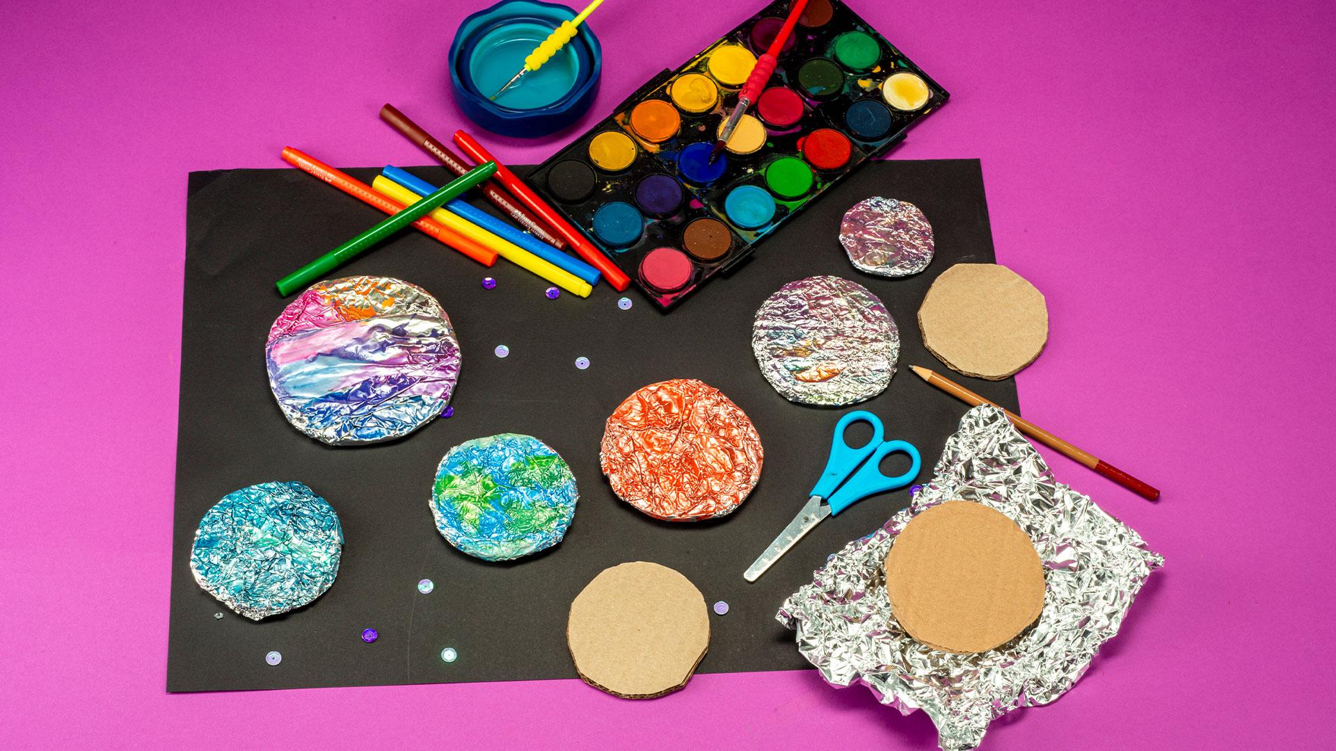 Gezegenlerin Renklerini Keşfet (Ortaokul)