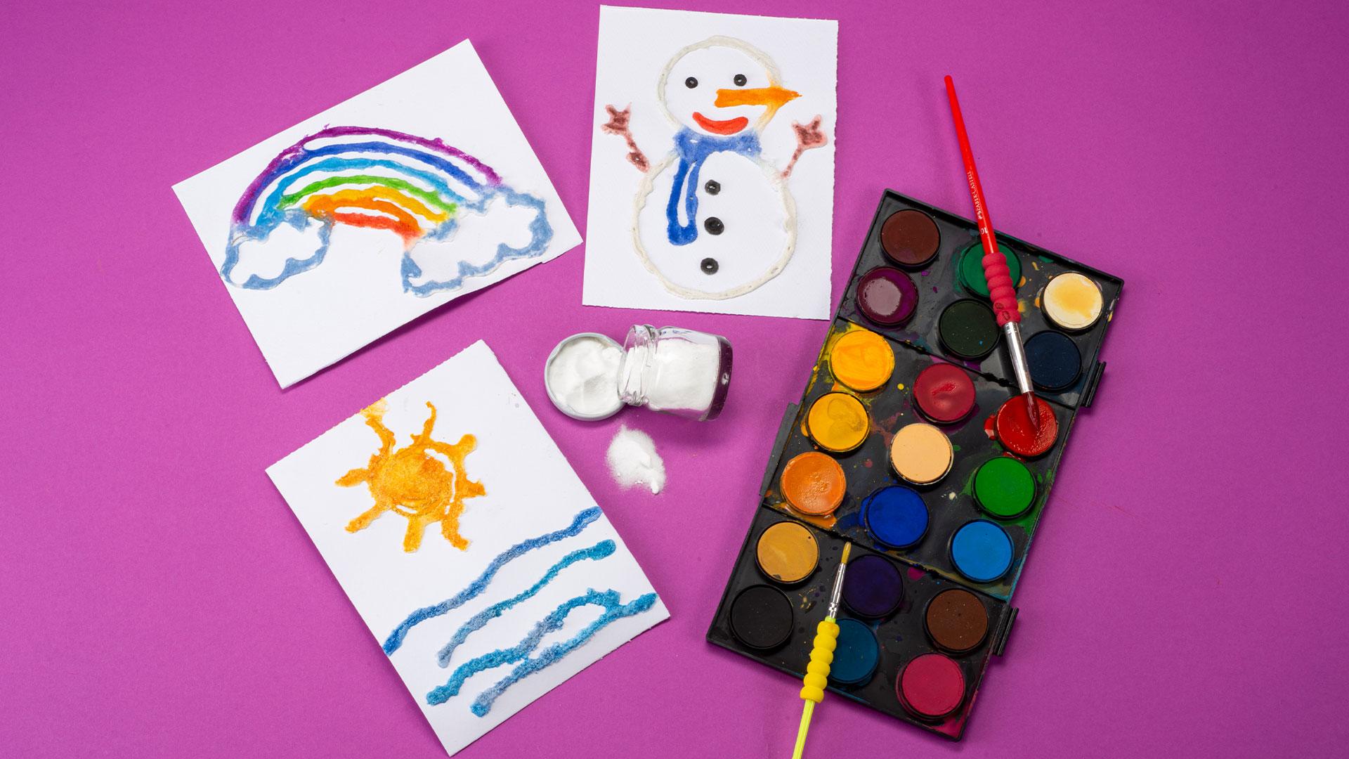 Tuzdan Rengarenk Figürler (İlkokul)
