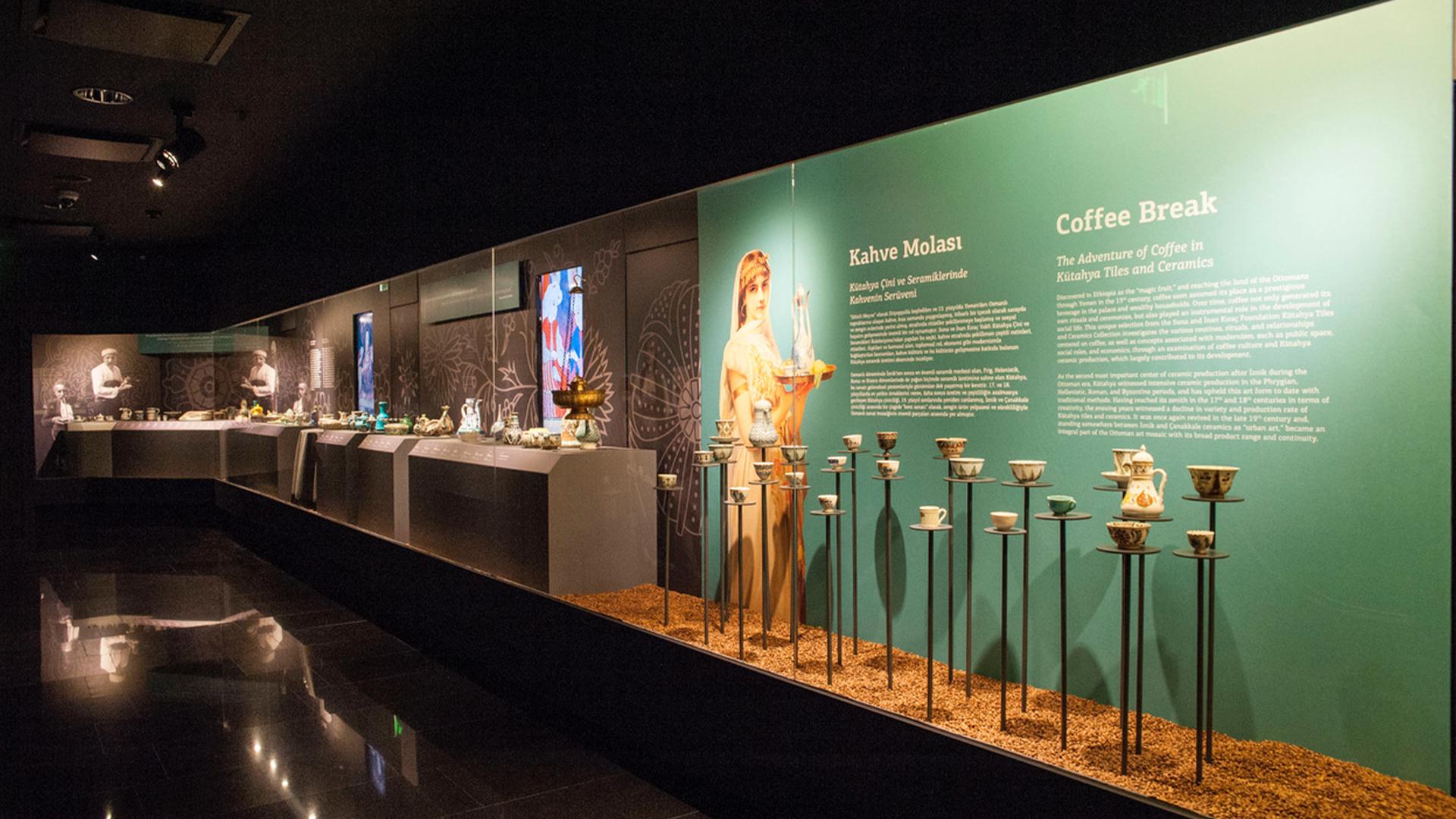 Kahve Molası Çevrimiçi Sergi Turu