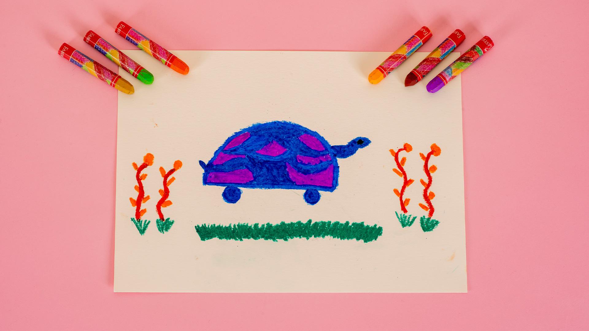 Kaplumbağa Çizimi