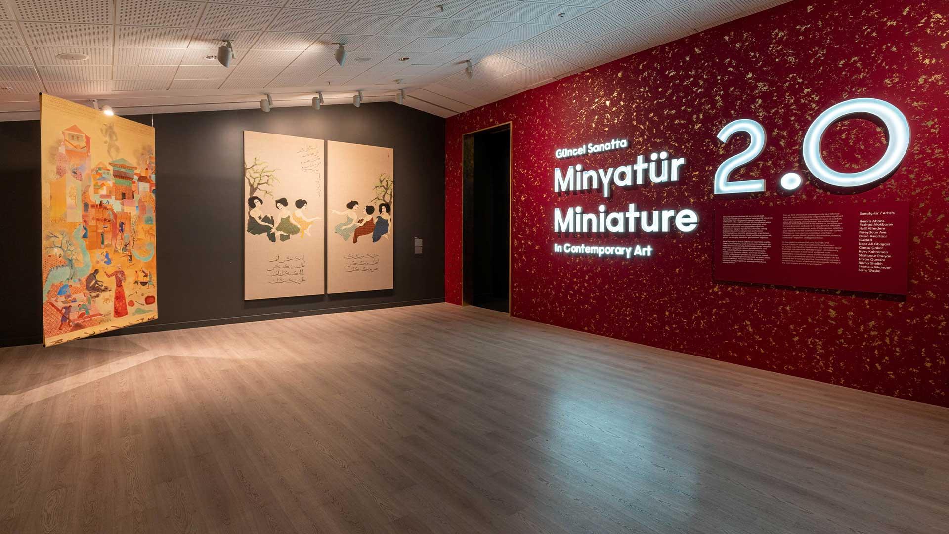 Minyatür 2.0, Güncel Sanatta Minyatür Çevrimiçi Rehberli Sergi Turu