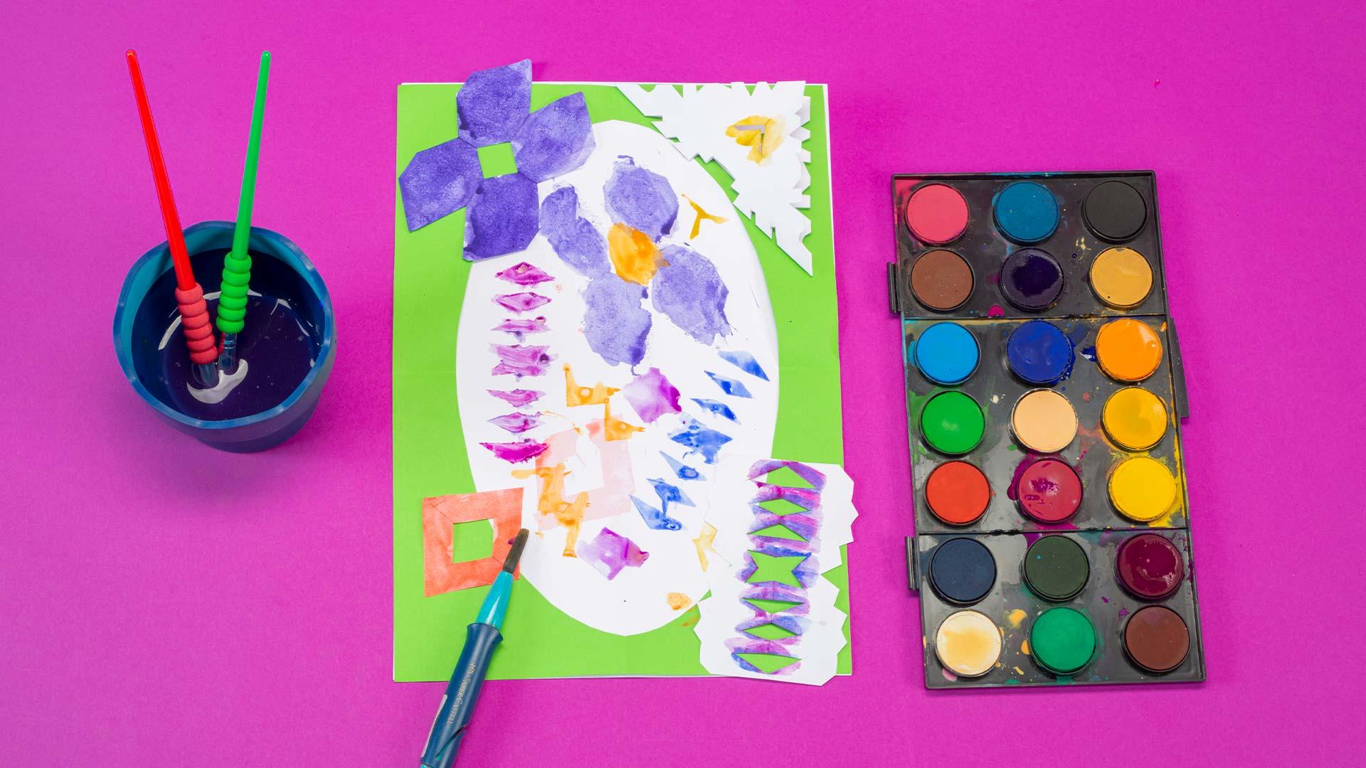 Rengarenk Motifli Baskılar