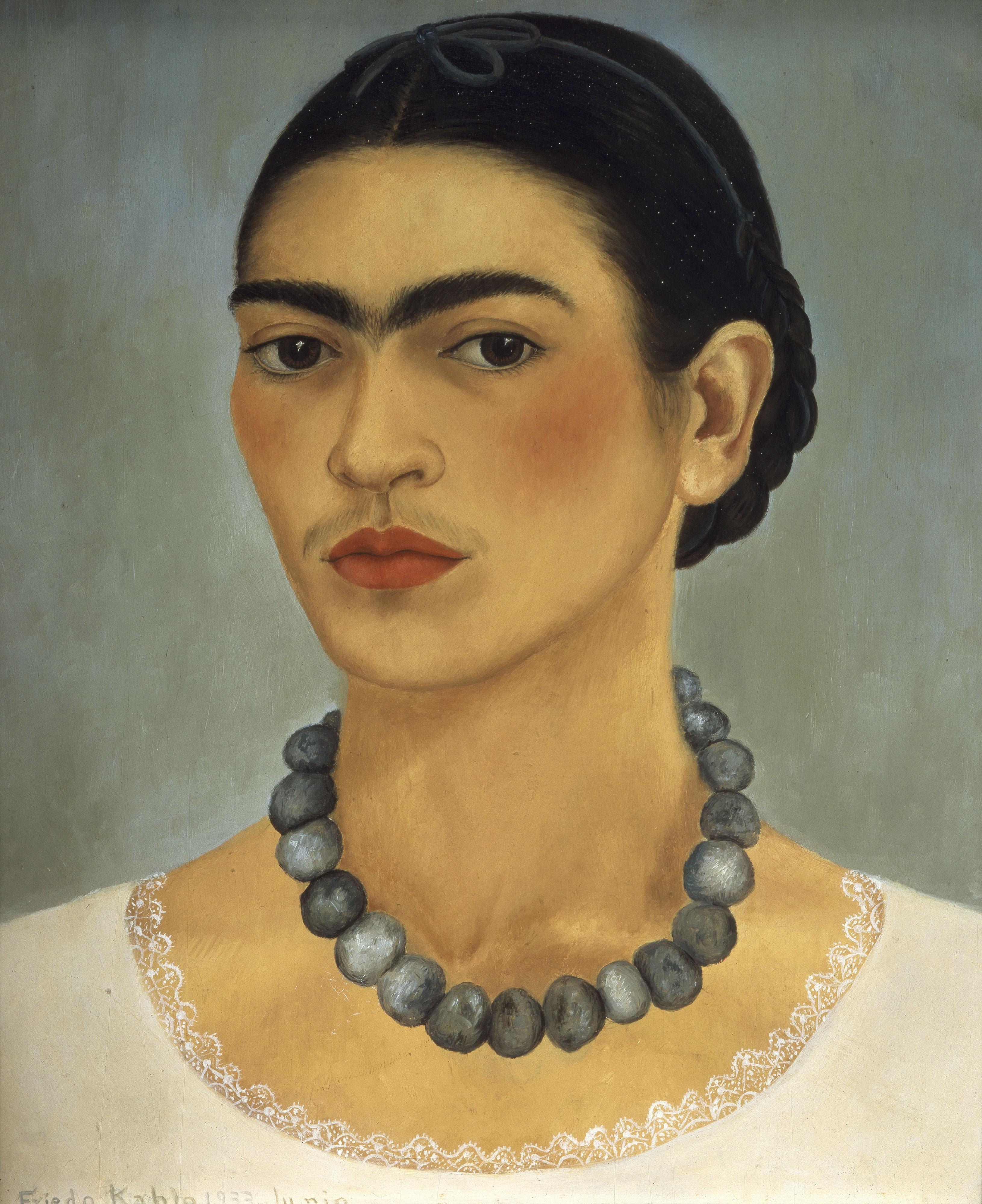 Frida Kahlo, Kolyeli Otoportre