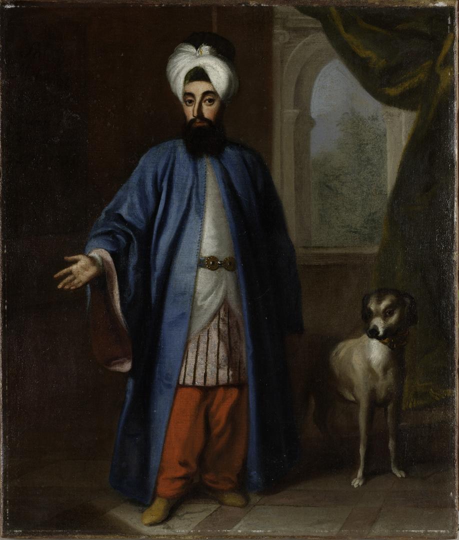 Mehmet Said Efendi, Ressamı Belirsiz, Tuval Üstüne Yağlı Boya, 45 x 38 cm. (18. Yüzyıl, 1733 sonrası)