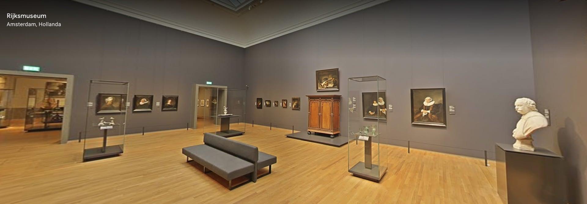 Rijksmuseum, Giriş katı sergi alanı, Google Arts & Culture ekran görüntüsü