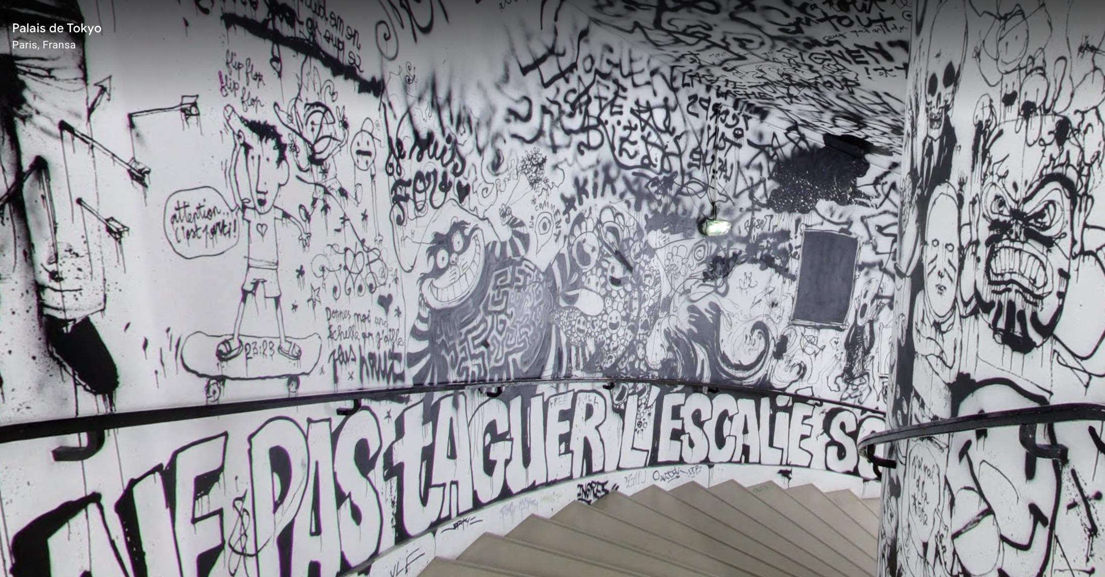 Palais de Tokyo, Lasco Project, Google Arts & Culture ekran görüntüsü